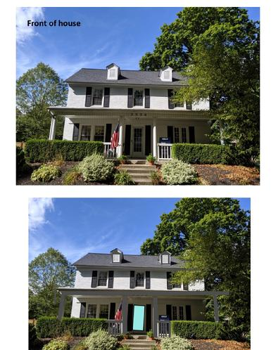 Selecting Exterior Paint colors for