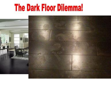 decorating with dark floors